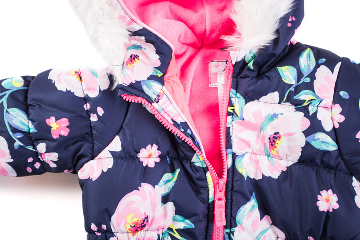 a baby windbreaker jacket
