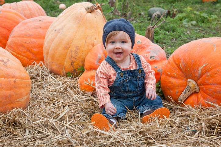 Cute Ideas for Baby's First Thanksgiving