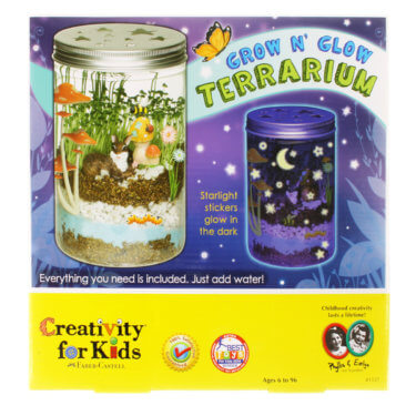 Creativity for Kids Glow 'N Glow Terrarium