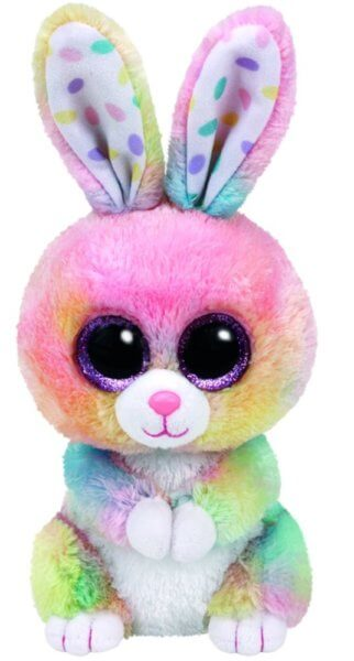 Ty Beanie Boos Bubby Easter Multicolor Rabbit