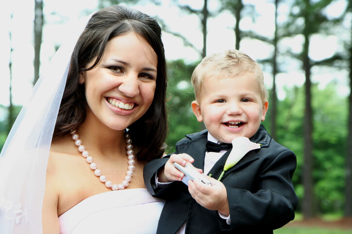 How To Prepare Your Toddler To Be A Ring Bearer