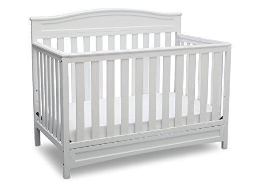 Delta Children Emerson 4-in-1 Convertible Crib
