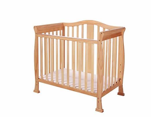 Dream On Me Addison 4-in-1 Convertible Mini Crib