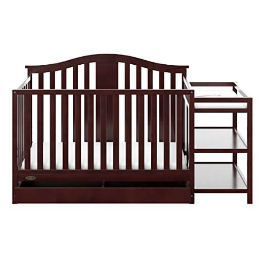 Graco Solano 4 in 1 Convertible Crib and Changer