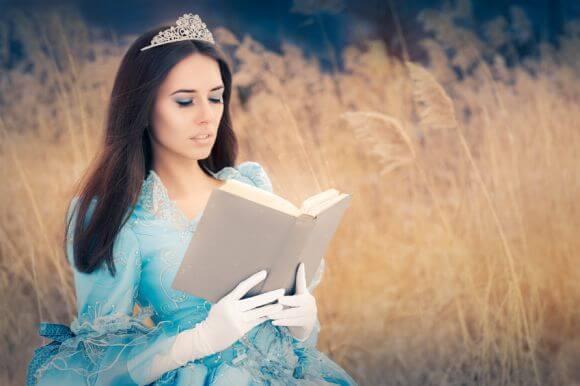 a woman dressed as a disney princess