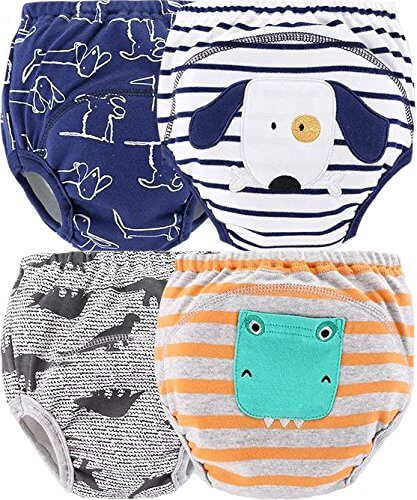 4 Pack Potty Training Pants
