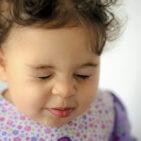 Baby Girl Is Sneezing
